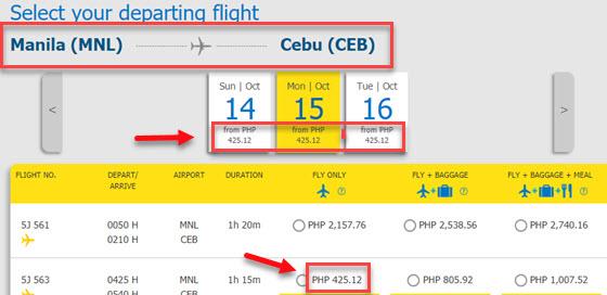 Manila-to-cebu-P1-fare-promo-by-cebu-pacific-ai