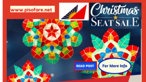 Philippine Airlines Christmas Seat Sale: January-March 2018 Travel