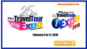 PTAA 25th Travel Tour Expo 2018 Dates, Venue, Participants
