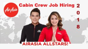 Walk-In Job Hiring Air Asia Cabin Crew 2018