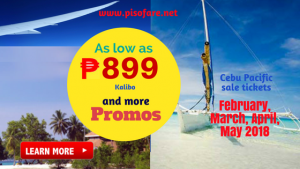 P899 & More Sale Tickets February, March, April, May 2018