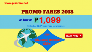 June-October 2018 Cebu Pacific Promo Fares