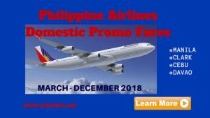 Philippine-Airlines-Domestic-promo-fares-2018
