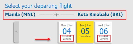 Manila-to-Kota-Kinabalu-Cebu-Pacific-promo-ticket