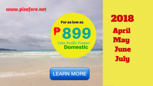 Cheap Tickets April-July Domestic Trips for as low as P899
