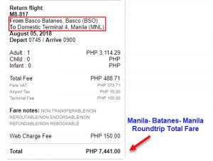 Batanes-to-Manila-Promo-Fare