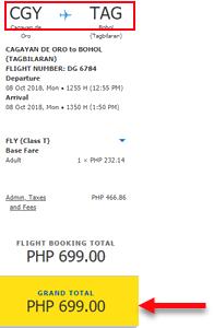 Cebu-Pacific-seat-sale-Cagayan-de-Oro-to-Tagbilaran