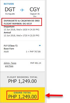 Dumaguete-to-Cagayan-De-Oro-seat-sale