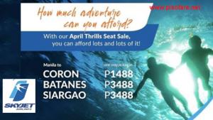 Skyjet Promo Fares Batanes, Siargao, Coron for 2018