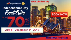 Philippine Airlines Up to 70% Off Base Fare International Promos 2018