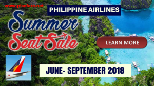 Philippine Airlines Domestic Summer Seat Sale 2018