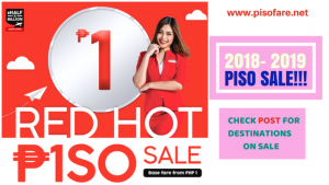 Air Asia Red Hot Sale P1 Base Fare Promo