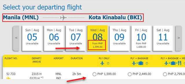 manila-to-kota-kinabalu-cebu-pacific-sale-ticket