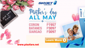 Skyjet Mother's Day Seat Sale 2018