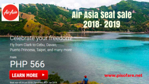 Air Asia Promo Fare: June 2018- January 2019