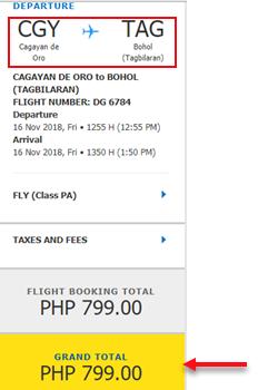 cagayan-de-oro-to-tagbilaran-promo-ticket