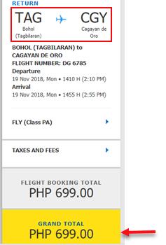 cebu-pacific-promo-tagbilaran-to-cagayan-de-oro
