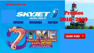 Grab Skyjet Promo Tickets at TME Travel Madness Expo 2018