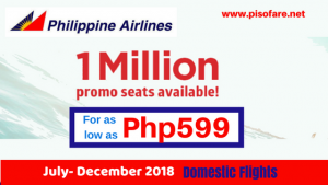 Philippine Airlines July- December 2018 Domestic Promo Flights