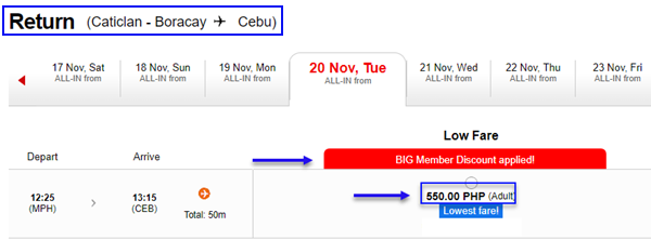 Boracay-to-Cebu-promo-fare-ticket-with-big-member-discount