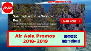 Air Asia Seat Sale for August 2018- January 2019 Flights