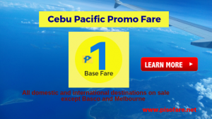 Cebu Pacific Piso Fare Promo 2019 All Destinations