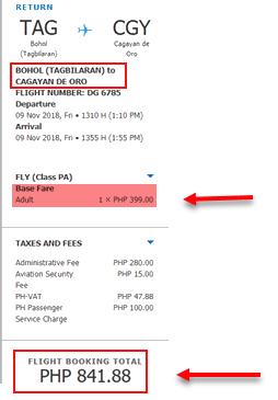 tagbilaran-to-cagayan-de-oro-sale-ticket