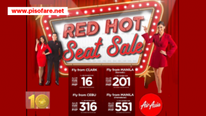 Air Asia Red Hot Sale Tickets: Piso Sale 2019 to 2020