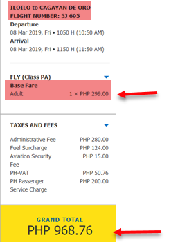 cebu-pacific-sale-ticket-iloilo-to-cagayan-de-oro
