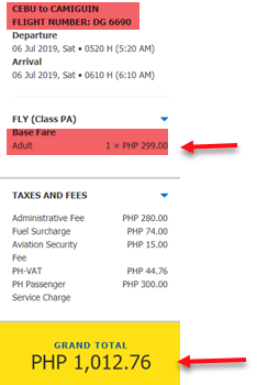 cebu-to-camiguin-promo-fare-ticket