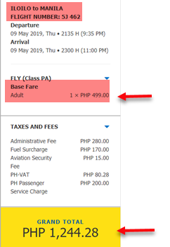 cebu-pacific-promo-seat-sale-iloilo-to-manila
