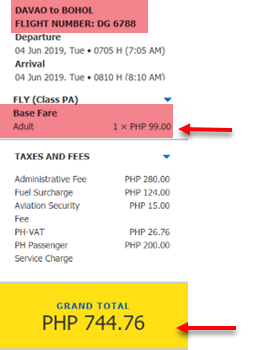 davao-to-bohol-cebu-pacific-promo-fare