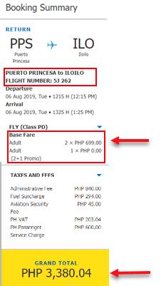 puerto-princesa-to-iloilo-cebu-pacific-sale-ticket