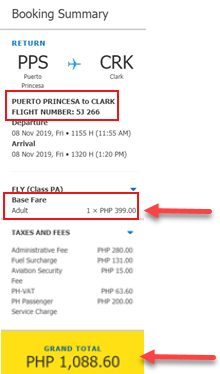 puerto-princesa-to-clark-promo-ticket