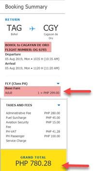 tagbilaran-to-cagayan-de-oro-promo-ticket