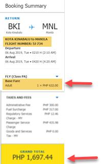 cebu-pacific-promo-ticket-kota-kinabalu-to-manila
