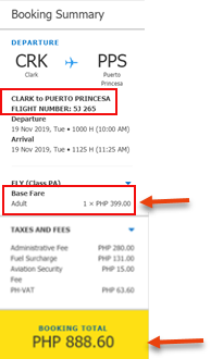 clark-to-puerto-princesa-sale-ticket-cebu-pacific