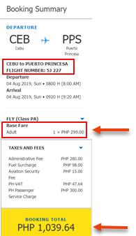sale-ticket-cebu-to-puerto-princesa