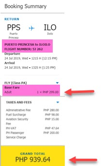 sale-ticket-puerto-princesa-to-iloilo