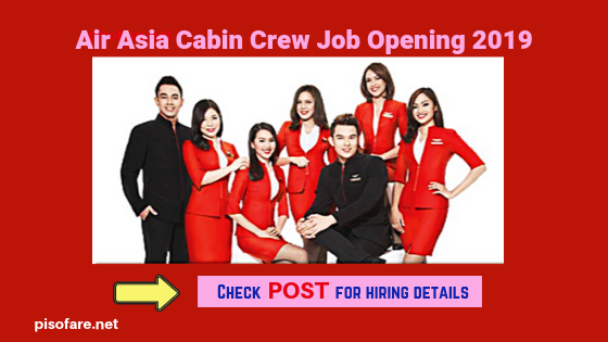 air-asia-male-female-cabin-crew-job-opening-2019