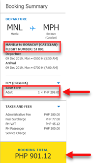 Cebu pacific promo ticket manila to boracay 2019