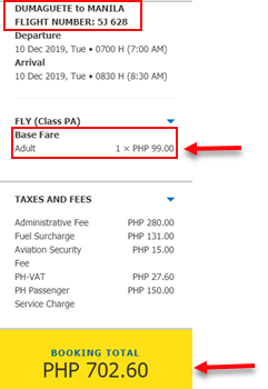 cebu-pacific-sale-ticket-dumaguete-to-manila