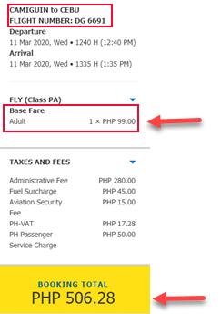 cebu-pacific-sale-ticket-2020-camiguin-to-cebu.