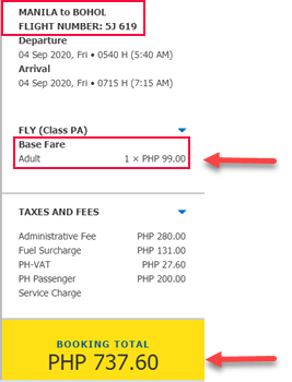 cebu-pacific-sale-ticket-manila-to-bohol