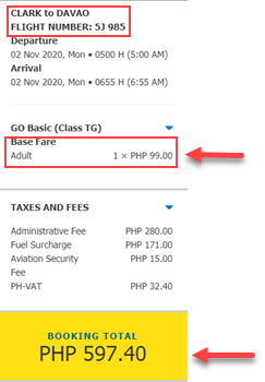 clark-to-davao-cebu-pacific-sale-ticket