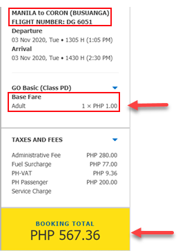 cebu-pacific-piso-fare-manila-to-coron