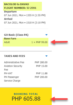 cebu-pacific-sale-ticket-2021-bacolod-to-davao