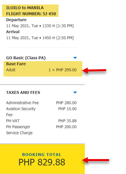 iloilo-to-manila-cebu-pacific-promo-ticket