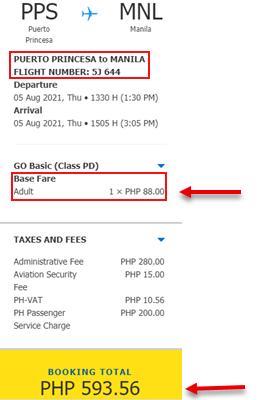 puerto-princesa-to-manila-cebu-pacific-sale-ticket-2021